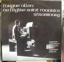 François Muller orgue Allen, st Maurice de Strasbourg : Cavazzoni, Ringeissen...