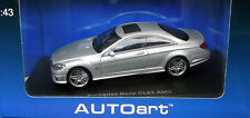 Mercedes Benz cl63 AMG Cl-Classe (c216) Coupé argent AUTOart 56246 1:43 neuf dans sa boîte