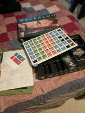 Waterloo Napoleon's Last Battle, Phalanx Games complete and mostly unpunched