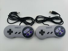iNext USB Wired GamePad Controller SNES Style Y-D002-055 Lot of 2
