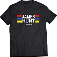 New James Hunt Men's T-shirt size S-2XL
