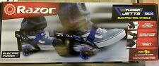 Razor Roller Skates Electric Heel Wheel Toys Lighted Wheels Dlx Blue Turbo Jetts