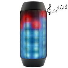 Pulse Portable Bluetooth Streaming mini Speaker with Built in LED Light Show
