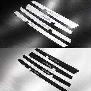 Logo Marking Side Door Plate Cover for 2019 2020 Hyundai Palisade