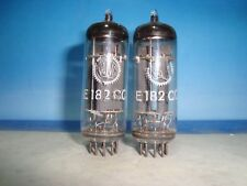 E182cc # Valvo/Philips # nos # matched and balanced pair # same código # (725)