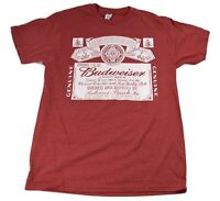 Mens Anheuser Busch Bud Budweiser King Of Beers Beer Shirt New S, M