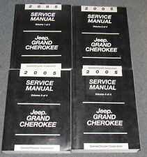 2005 Jeep Grand Cherokee Service Manual Set