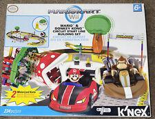 Rare New K'nex Mariokart Mario and Donkey Kong Circuit Start Line Building Set