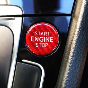 Carbon Fiber Start Stop Button Audi and VW Golf MK7 MK7.5 2013-2021