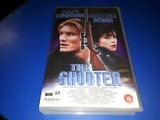 THE SHOOTER: Dolph Lundgren - Ex-Rental Big Box VHS (FREE UK P & P)