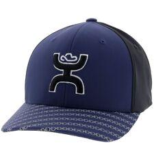 Hooey Hat Solo III Navy & Black Flexfit Ball Cap 2009NVBK