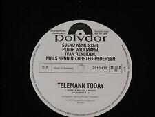 ASMUSSEN, WICKMANN, RENLIDEN -Telemann Today- LP Polydor Promo Archiv-Copy mint