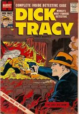 D712 Dick Tracy 132 Harvey Golden Age Comic Book