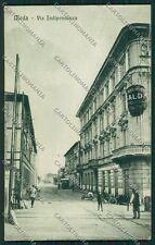 Milano Meda RIFILATA cartolina QQ8154
