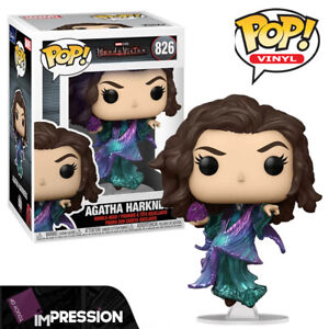 WandaVision Agatha Harkness Official Marvel Funko Pop Vinyl Figure (In Stock)