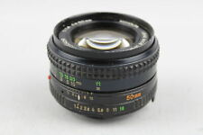 Minolta MD Rokkor 50mm F/1.4 CAMERA LENS No. 3138930 Mechanically Working