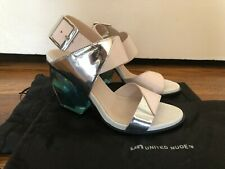 United Nude 38 Beautiful Ice Blue Clear Heels - No longer available