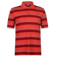 Slazenger Hombres Pique Polo Shirt Mens Ajuste Clásico