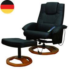 5 Modi 360° Massagesessel inkl. Hocker Fernsehsessel drehbar Relaxsessel DE Neu