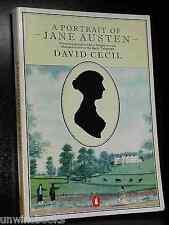 A Portrait of JANE AUSTEN David Cecil PRIDE & PREJUDICE Sense Sensibility Author