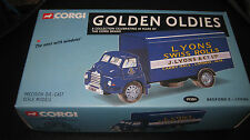 CORGI GOLDEN OLDIES 40th ANNIVERSARY  BEDFORD S TRUCK J. LYONS  LTD ED #19301