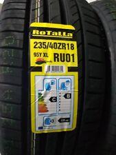 2X NEW CAR TYRES ROTALLA RU01 235/40 ZR18 XL 95Y A1 PERFORMANCE 235 40 18 B+C