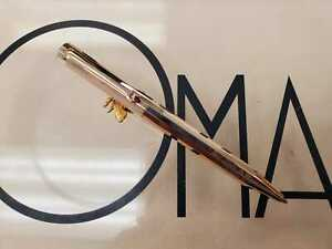 OMAS L502 MECHANICAL PENCIL ROSE GOLD PLATED LADY SIZE  * NEW FROM FACTORY *