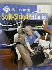 New - Samsonite Soft-Sided Pet Carrier For Pets Up To 20 Lbs - Airline Approved