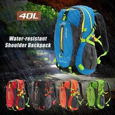 Military Tactical Backpack Rucksacks Camping Trekking Bag Outdoor Sport 40L P9M6