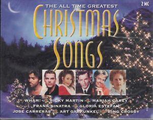 MUSICASSETTA CHRISTMAS SONG WHAM SINATRA ECC ECC  2 CASSETTE  NUOVA SIGILLATA