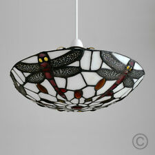 MiniSun Elegant Stained Glass Tiffany Style Ceiling Lounge Light Home Lighting Dragonfly