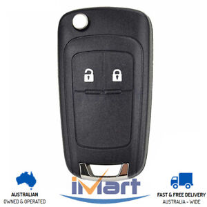 Fits Holden Barina/Cruze/Trax 2 Button Remote Flip Key Blank Replacement Case