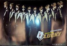 Korea Star Poster Kim Hyun Joong - LUCKY B ver. Official Poster (POSTU087)
