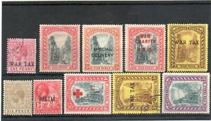 BAHAMAS  MINT /USED (10) CAT £26 APPROX..MOSTLY WAR TAX