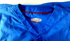 ScrubZone by Landau Unisex Scrub Top 71400  Royal Blue Size LG