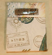 New Panama Jack Island Breeze Collection Shower Curtain & 12 Rollerball Hooks