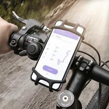 "4~6.3"" Smartphone Bike Handlebar Phone Holder Stand Cycling GPS Mount Universal"
