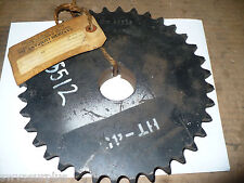 "Martin 60B36 Single Roller Sprocket, 1-11/16"" Bore, New"