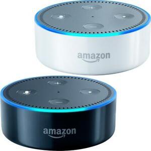 Amazon Echo Dot - 2nd Gen - Home Music Smart Assistant Speaker w/ Alexa