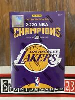Los Angeles Lakers 2020 NBA Finals Champions Panini 30 Card LE Team Set IN HAND