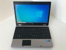 HP Probook 6550b i5 2,4GHZ 4GB 250GB HDD DVD W10 Webcam Mwst 50B2
