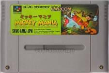""" MICKEY MANIA "" MICKEY MOUSE SFC SNES SUPER FAMICOM JAPAN"