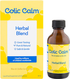 Colic Calm - Amazing Natural Colic Remedy - Helps Soothe Baby Gas,Upset Stomach