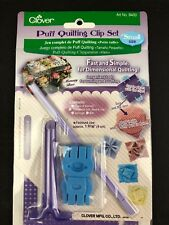 Clover Puff Quilting Clip Set Small #8400 Dimensional Quilting