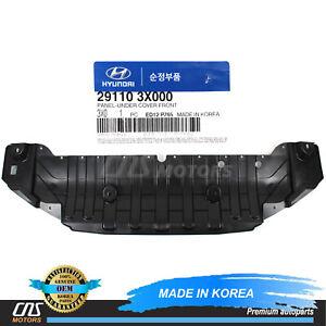 GENUINE Under Cover Front Splash Shield for 11-13 Hyundai Elantra OEM 291103X000
