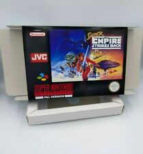Super Star Wars Empire Strikes Back - Repro box with insert - PAL OR NTSC - SNES