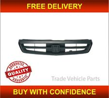Honda Civic 1999-2001 Front Bumper Grille Main Centre Black 2/3 Coupe & H/B New