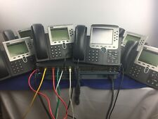 Cisco 6 Enhanced CME Voip Phone Systems with VoiceMail & Auto-Attendant