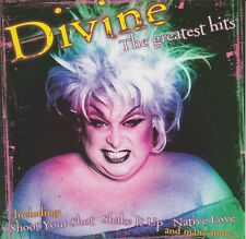 Divine CD The Greatest Hits incl: Love Reaction, Shake It Up, Shoot Your Shot