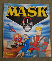 MASK 1986 Panini Sticker Album Complete With 158 Stickers Inside GOOD CONDITION